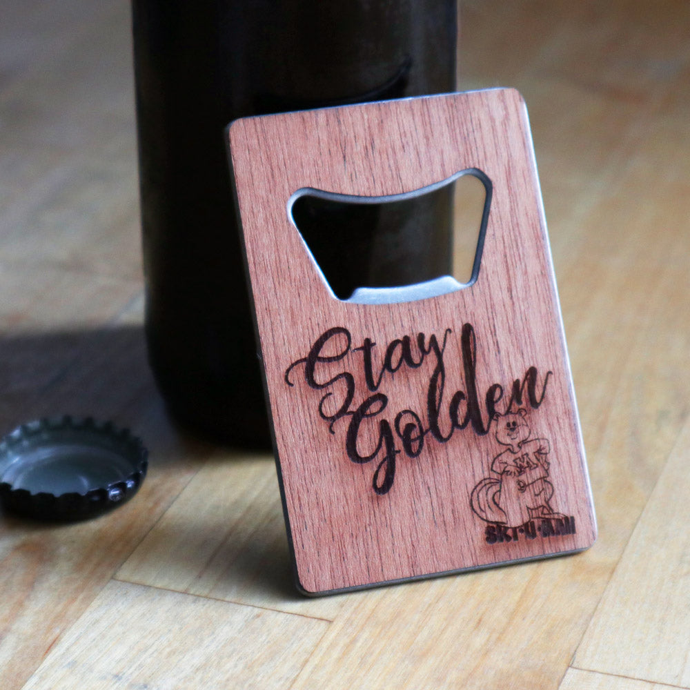 Stay Golden Bottle Opener