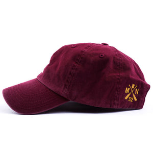 Sota Maroon and Gold Hat