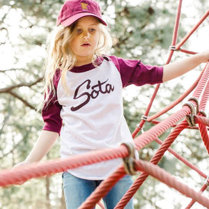 Sota Clothing Cherrywood Youth Raglan Tshirt