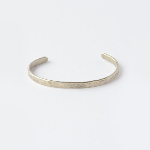 Thin Hammered Cuff