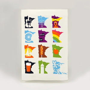 Adam Turman 'MN Months' Tea Towel