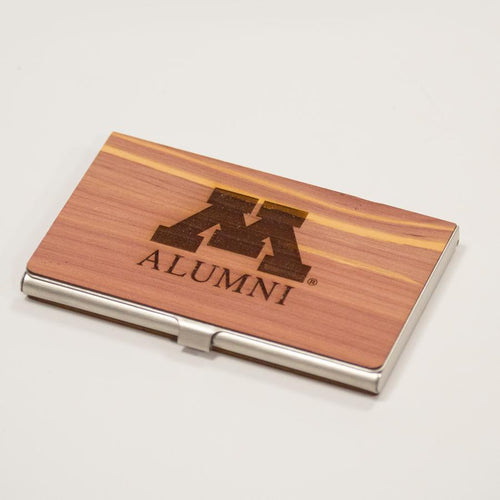 M Alumni Business Card Case