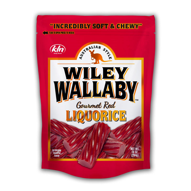 Wiley Wallaby Liqorice - Red or Black