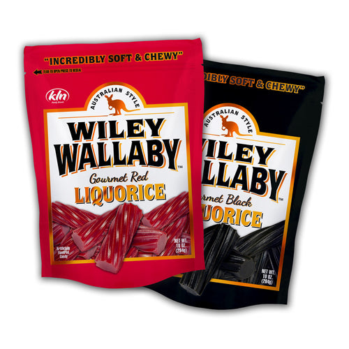 Wiley Wallaby Liquorice - Red or Black