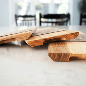 Charcuterie Serving Board of reclaimed wood