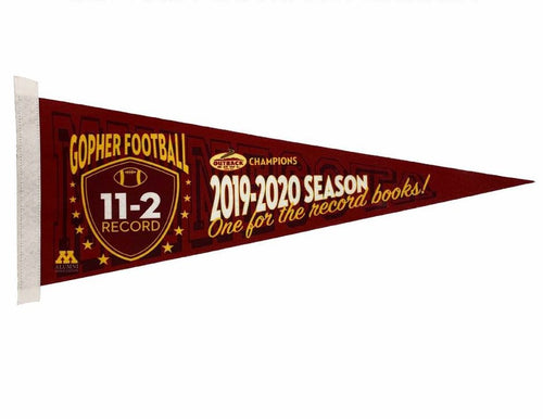 2019-20 Football Season Commemorative Pennant