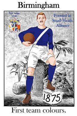 Birmingham City First Kit