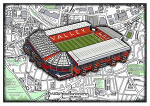 Charlton Athletic. The Valley. Stadium history
