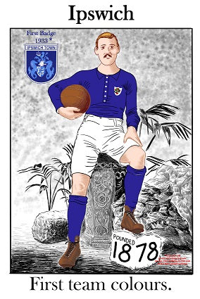 Ipswich Town FC First Kit