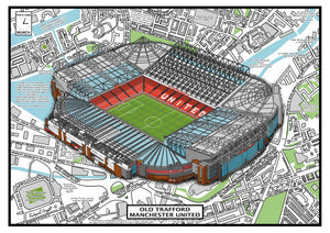 Manchester United .Old Trafford Stadium History
