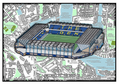 Millwall. The New Den Stadium History