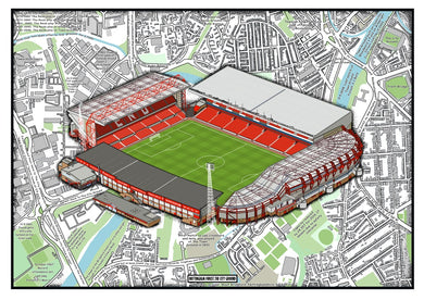Nottingham Forest. The City Ground stadium history