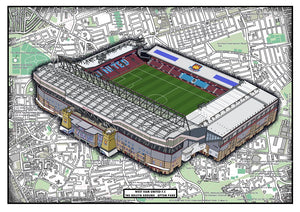 West Ham United FC. Boleyn Ground Stadium History