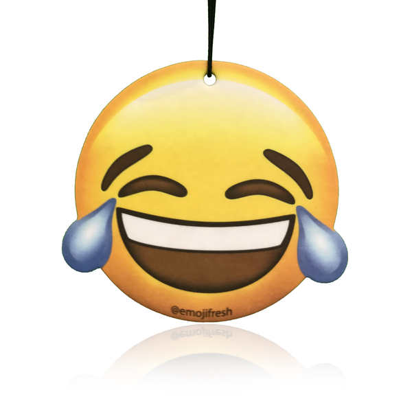 EmojiFresh Laughing Face Emoji Air Freshener – Emoji Fresh