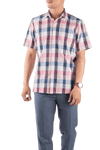 Pink-Blue Checkered Shirt