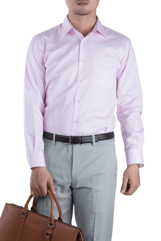 Small Line Pink Shirt