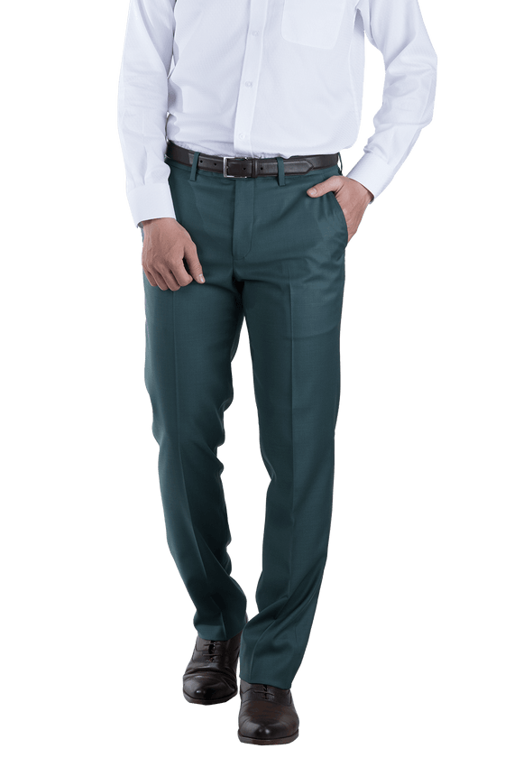 Bottle Green Trousers