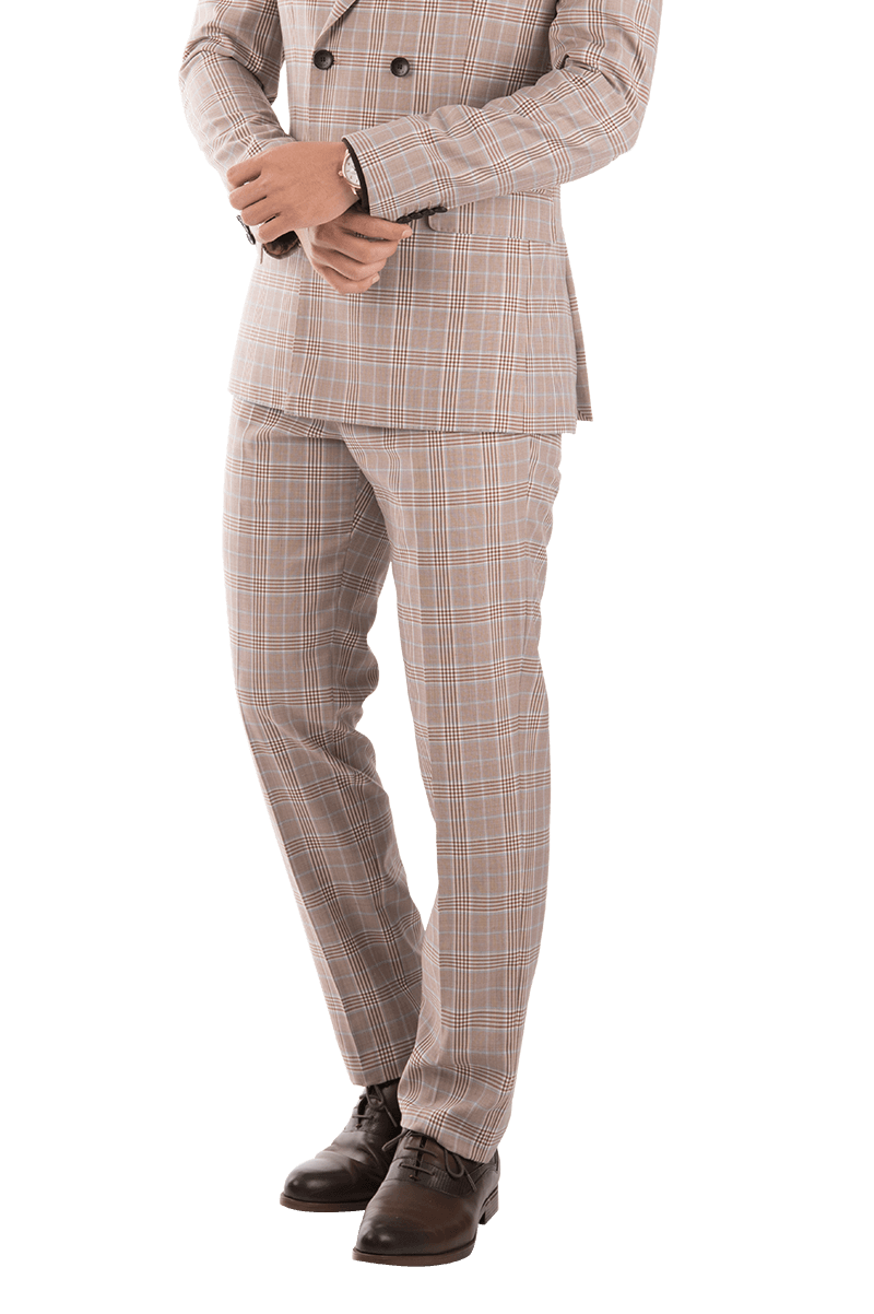 Pink checkered Trousers