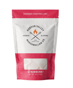 Gourmet Strawberry Marshmallows (4oz bag)