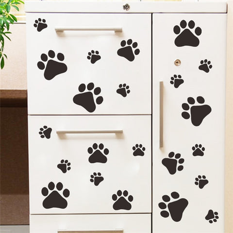 Sticker patte de chiens