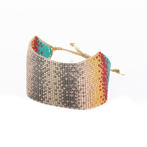 Festival Large Cuff - Red
