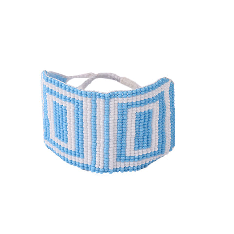 Cosmic Bug Cuff (Blue)