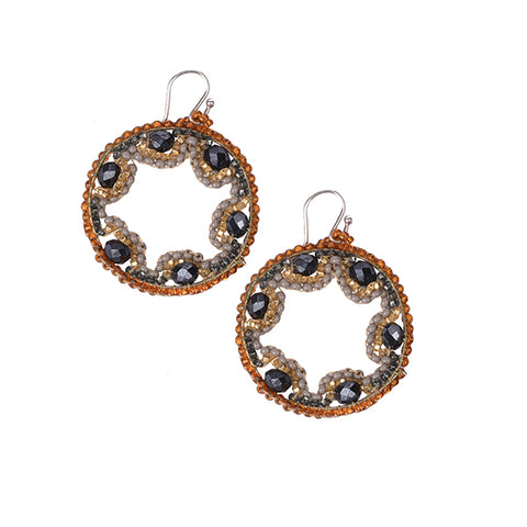 Zolar Earrings (Grey)