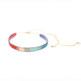 Optic Rainbow Choker