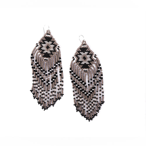 Zolar Earrings (Black)