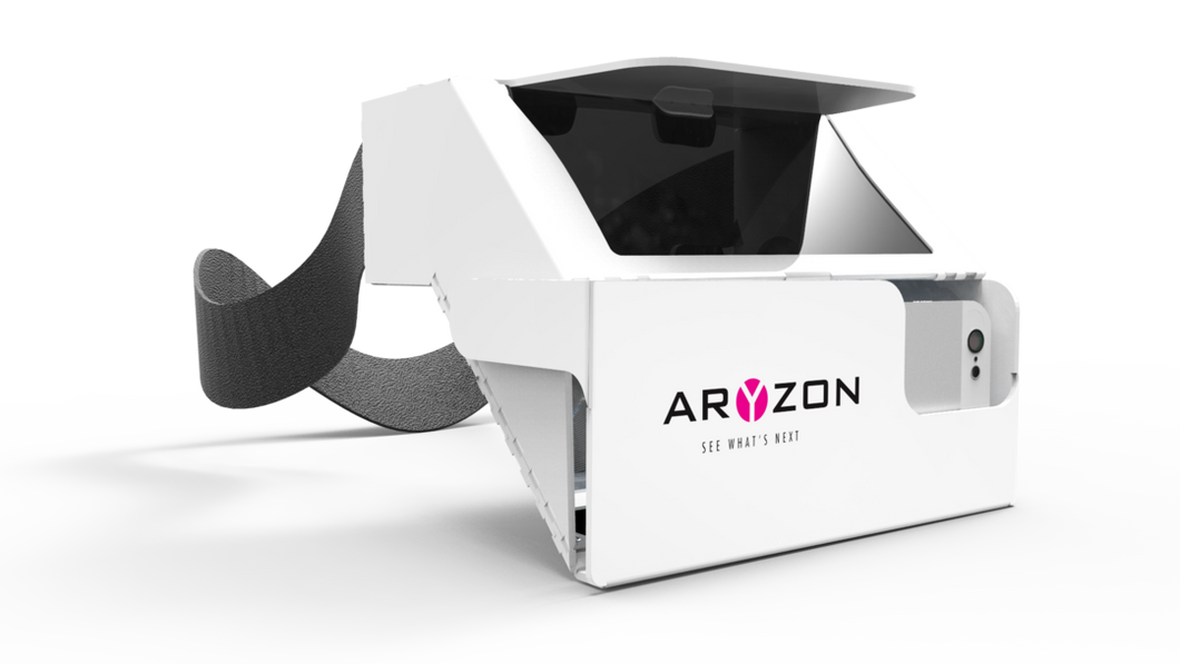 Aryzon Cardboard Augmented Reality Headset