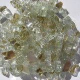 1/2 inch Golden Reflective Fire Glass Crystals - PatioElegance