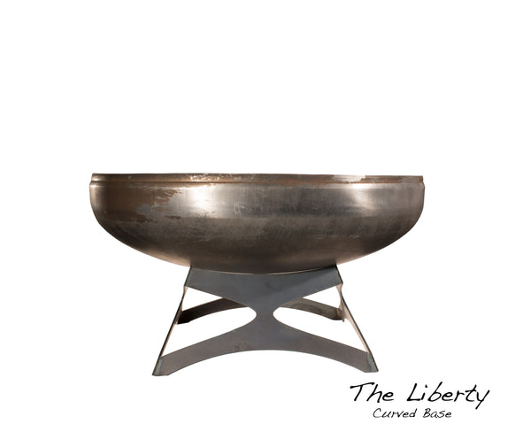 "Ohio Flame 42"" Liberty Fire Pit with Curved Base OF42LTY_CB"