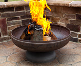 "BUNDLE Ohio Flame 36"" Patriot Fire Pit OF36FPNSF Free Tools"