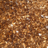 1/4 inch Copper Fire Glass Crystals - PatioElegance