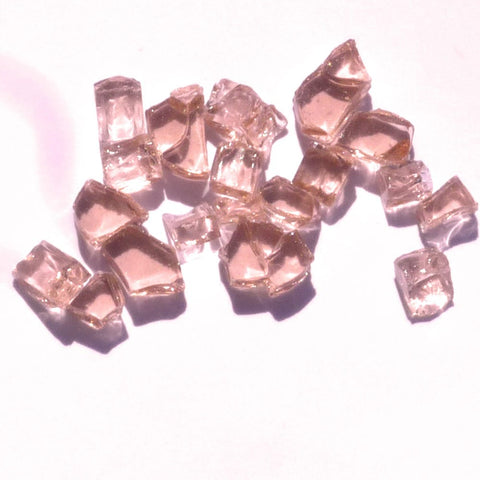 1/4 inch Rose Fire Glass Crystals - PatioElegance