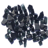 1/4 inch Black Reflective Fire Glass Crystals - PatioElegance
