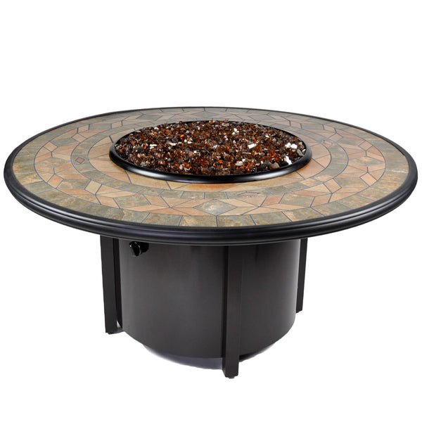 Tretco Venice II 48 inch Fire Pit Table - PatioElegance