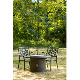 Traditions Fire Pit Table - PatioElegance