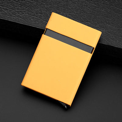 Metal Travel Card Wallet