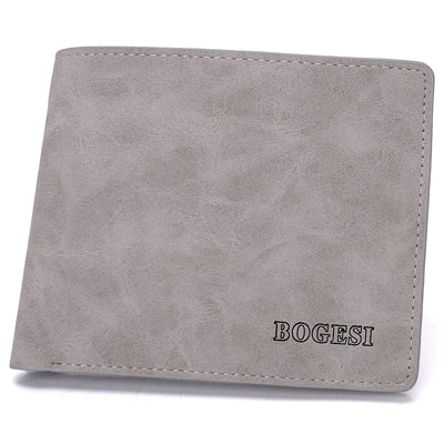 Black/Light Grey/Coffee Coloured Bogesi Wallets
