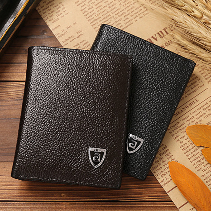 Mini Luxury Leather Wallet