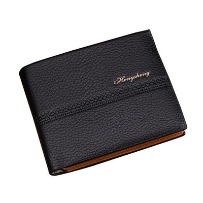 Short Business Leather Wallet