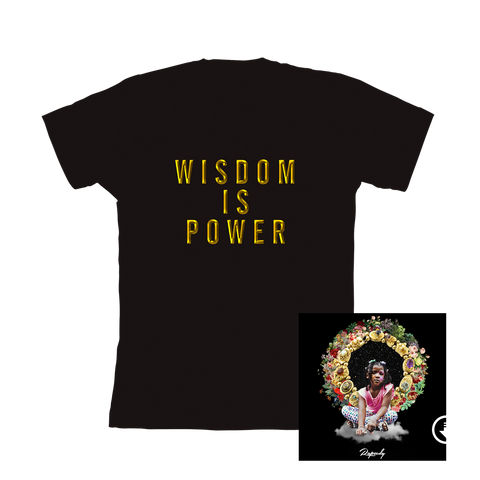 Wisdom is Power T-shirt + Digital Album