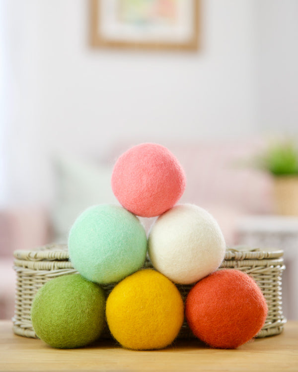 Wool Dryer Balls · 6 Pack