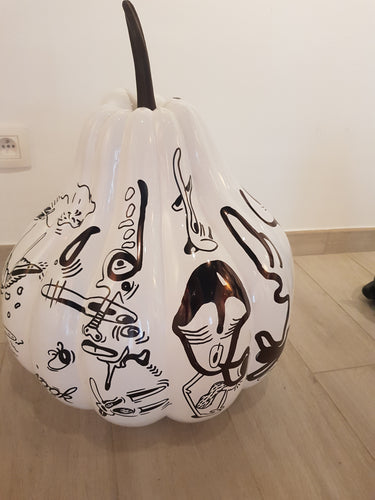 Large Pumpkin sculpture