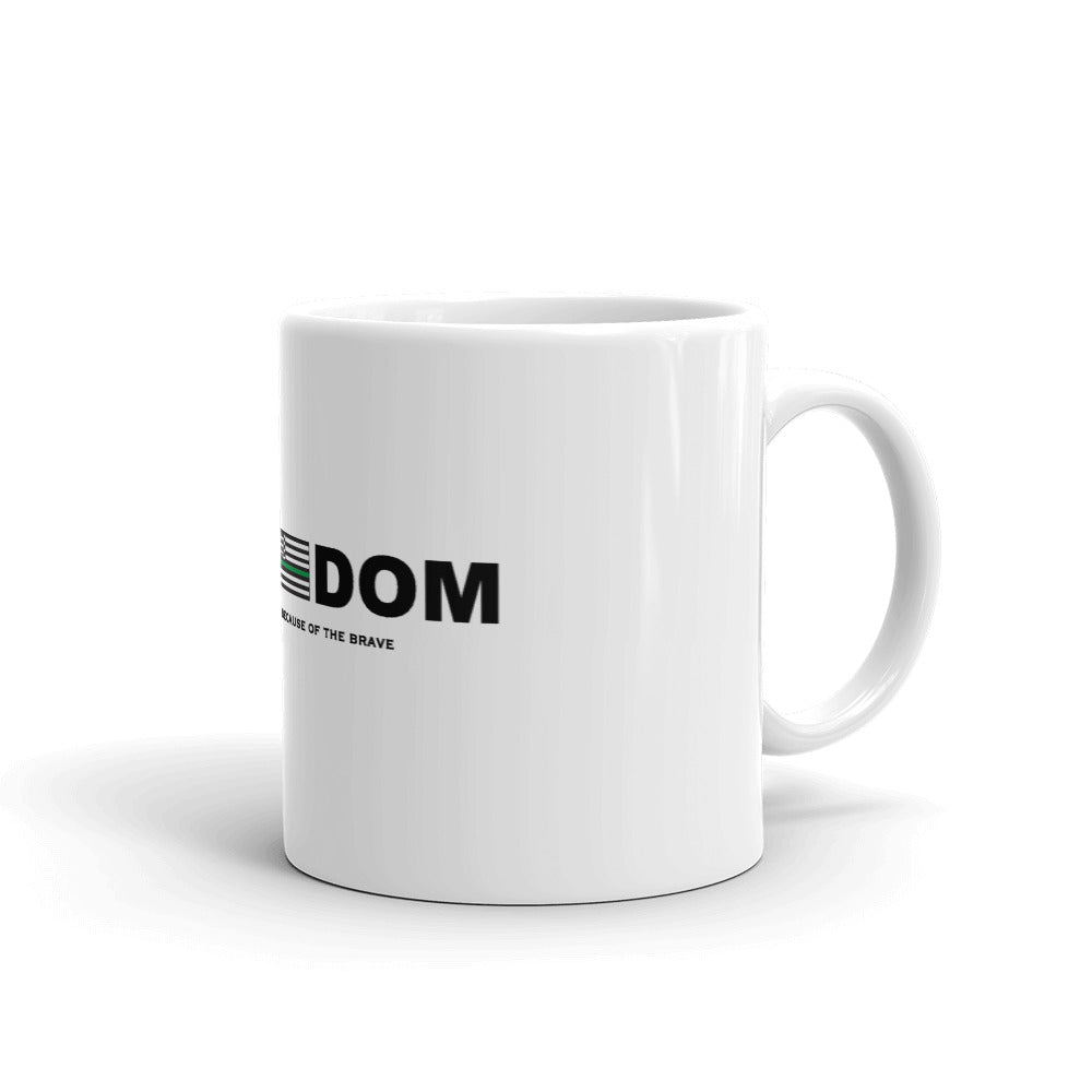 Mug: Freedom...-TrainOurTroops-TrainOurTroops