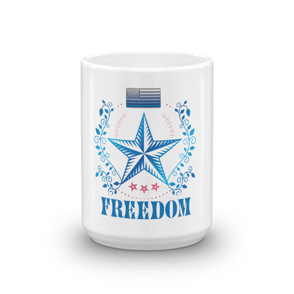 Mug: Freedom-TrainOurTroops-TrainOurTroops