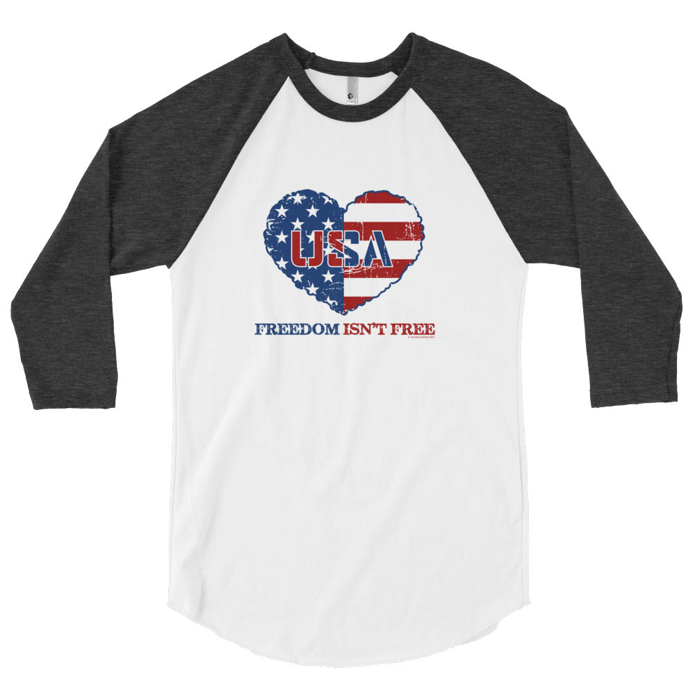 Men's Jersey: Freedom Isn't Free-TrainOurTroops-TrainOurTroops
