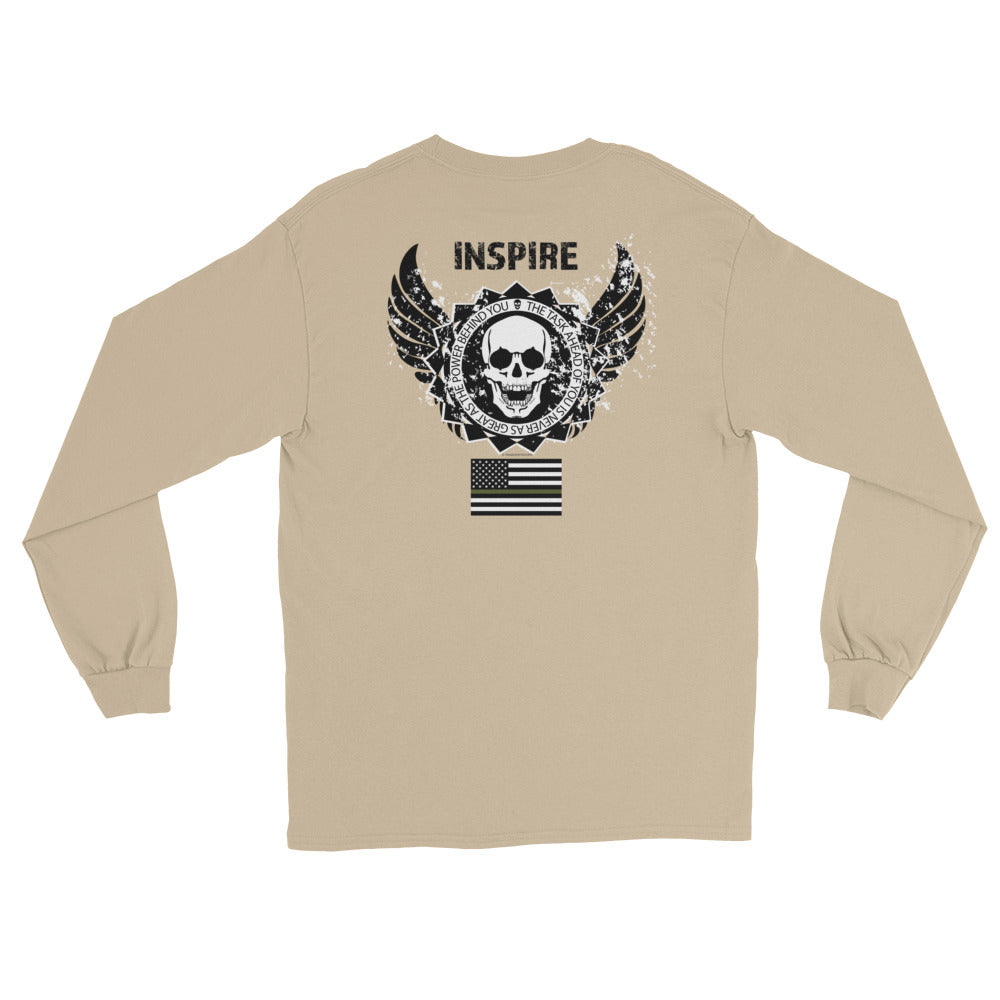 Women's Long Sleeve: Inspire...-TrainOurTroops-TrainOurTroops