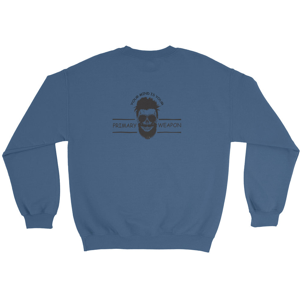 Men's Sweatshirt: Don't Be Afraid...-TrainOurTroops-TrainOurTroops